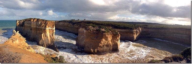 Island Archway panorama 2
