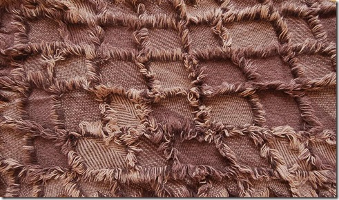 weaving finished cloth