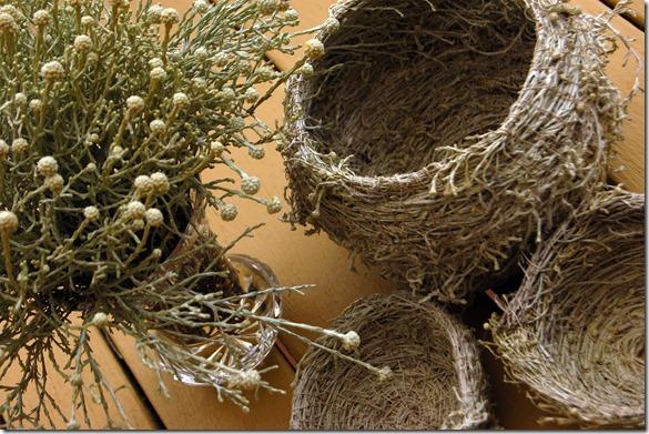 cushion bush baskets