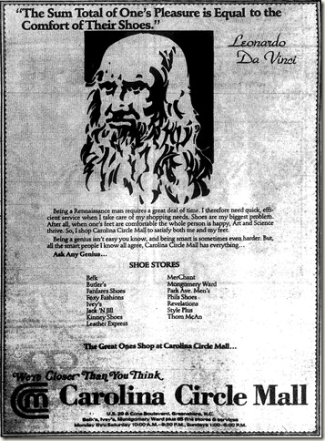 General Ad November 17, 1985
