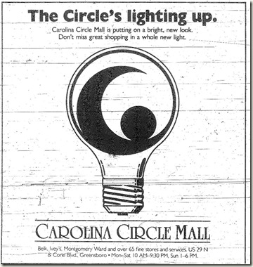 The Circle's Lighting Up October 1987