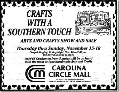 Craft Show November 1984