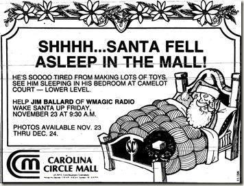 Christmas Ad November 1984
