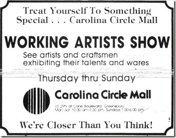 Working Artists Show May 8, 1984
