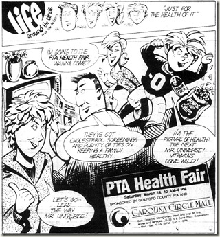 PTA Health Fair March 1992