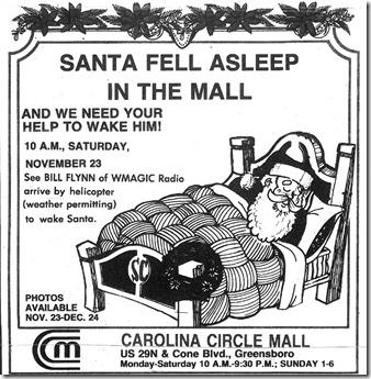 Christmas Ad November 1985