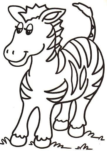 Dibujos de animales para niños de primaria para colorear
