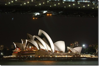 Opera House from Blues Point