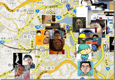 台灣噗友地圖