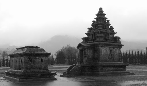 Temple on Dieng Plateau, Java