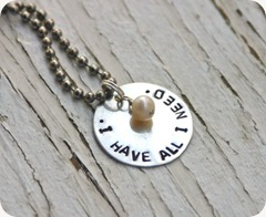 All I Need Necklace