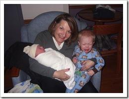 Grandma & Boys