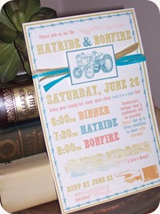 Hayride Invitation