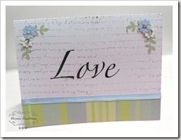 Love Anniversary Card