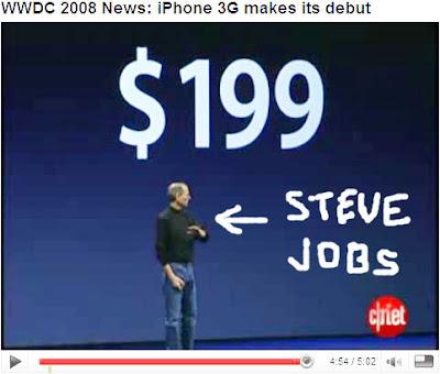 Steve Jobs - Introducing the 3G Iphone