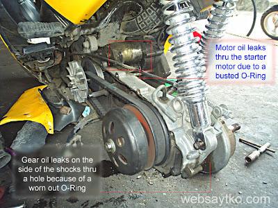 gear oil leaks
