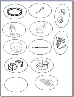 photo about Printable Resurrection Eggs named Peg Doll Bible Studies: Resurrection Eggs printable