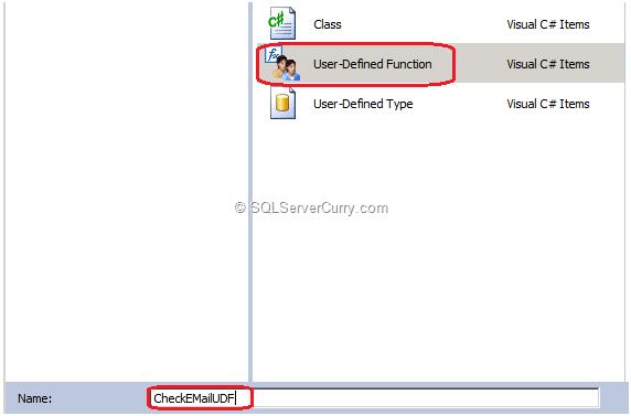 SQL Server UDF
