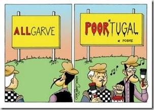 Allgarve e pobre Portugal