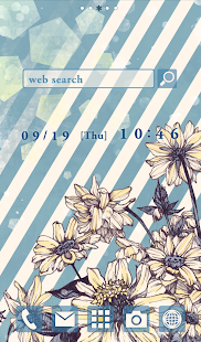 Cute wallpaper★Vintage Blue* - screenshot
