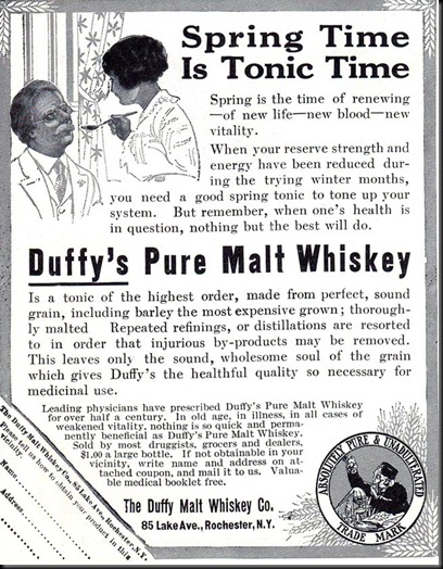 Duffy_s Pure Malt Whiskey -1914A