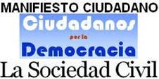 Manifiesto Ciudadano: La Sociedad Civil
