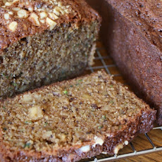 Zucchini Spice Bread with Walnuts and Olive Oil
