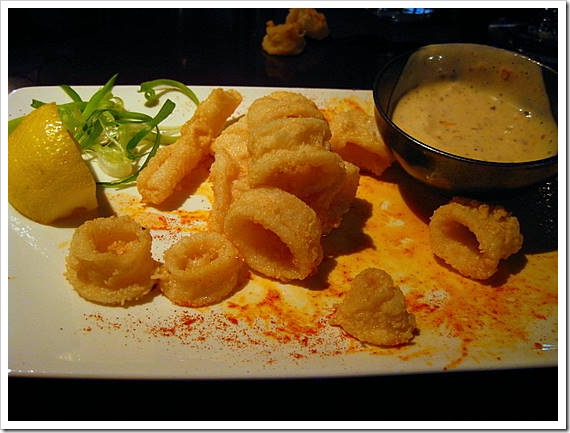 Crispy fried Calamari with Sambol