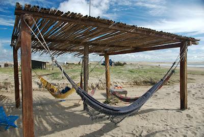 hammock cabo polonio hostel uruguay