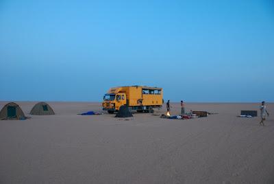 camping in sudan desert