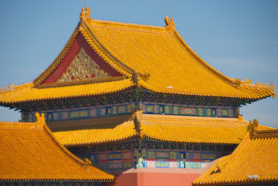 Forbidden Palace Rooftops in Bejing, China