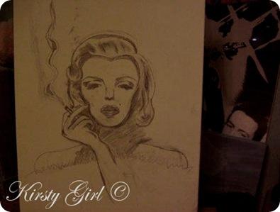 Marilyn monroe sketch 2