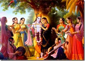 Radha-Krishna and associates