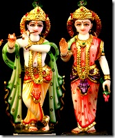 Deities of Radha Krishna