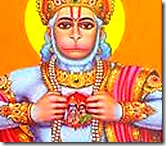 Hanuman always thinking of Sita and Rama