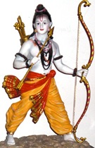 Lord Rama - God as a kshatriya