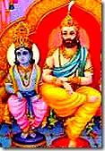 Maharaja Dashratha with son, Lord Rama