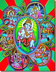 Lord Krishna's activities