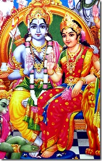 Lord Rama and wife Sital