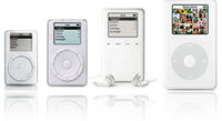 evolution of iPod