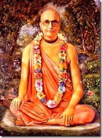 Shrila Bhaktisiddhanta Sarasvati Thakura - a celebrated spiritual master