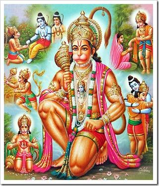 Hanuman's service to Rama