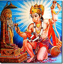 Hanuman - a pure devotee