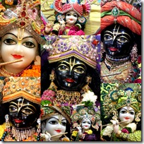 Krishna's different appearances