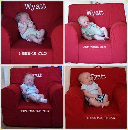 wyatt monthly pics1
