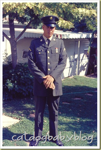 PVT Stan Gunkel at Home, Aug 1968
