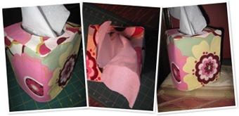 View Tissue Box Cover