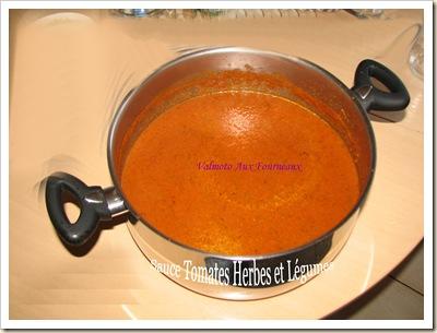 Sauce Tomates Herbes et