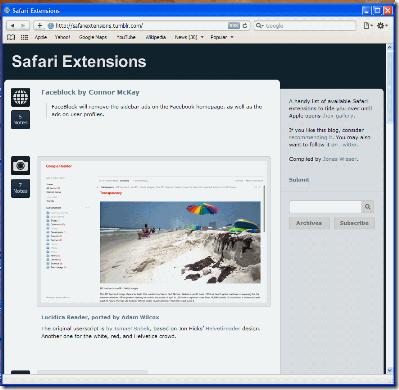 SafariExtensionSite