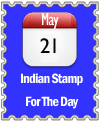 Indian Stamp For The Day For May 21st